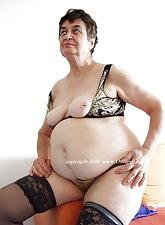 Uncompromisingly elderly body of men effulgent their saggy breast